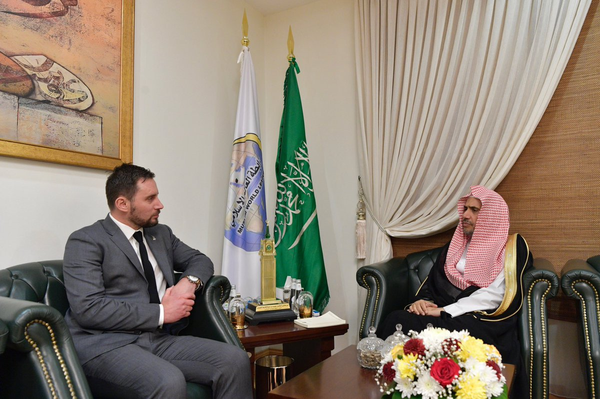 Dr.Alissa received Mr. James Monroe, New Zealand's Ambassador to KSA