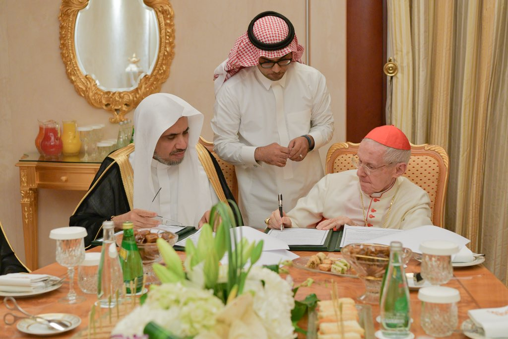 H.E. the SG of the MWL Dr. Mohammed Alissa expressed his heartfelt condolences to H.H. Pope Francis on the death of Cardinal Jean-Louis Tauran