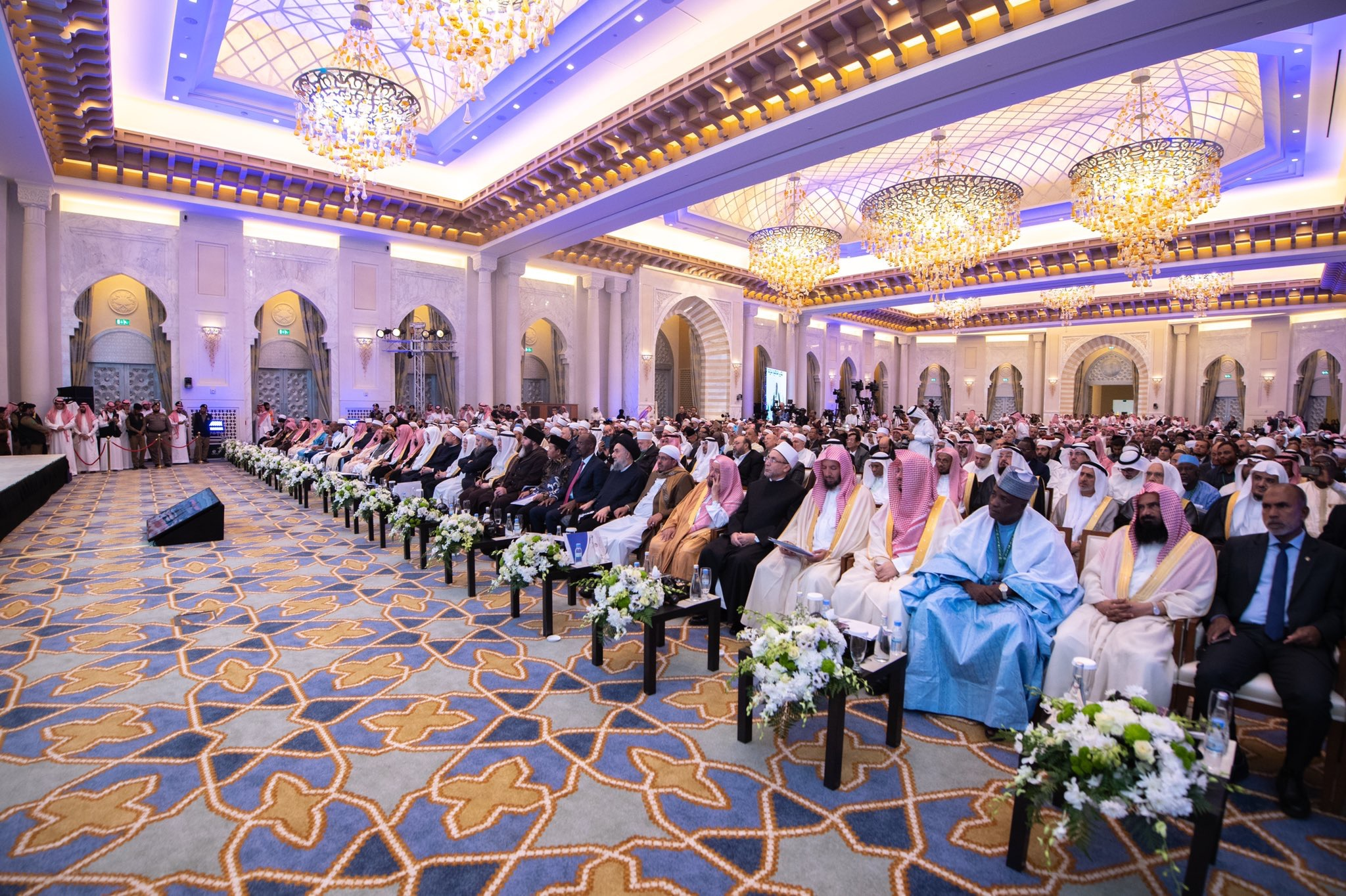 "1200 Scholars from 127 countries & 28 Islamic components at the Islamic Unity Conference: ""KSA is the supreme Islamic reference both ""spiritually & scientifically"" & the Qibla of Muslims"