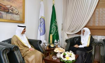 H.E. the SG Dr. Alissa received the Ambassador of the State of Kuwait